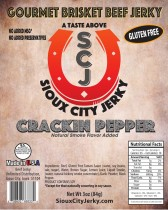 Crackin Pepper Beef Jerky