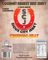 Creeping Heat Beef Jerky
