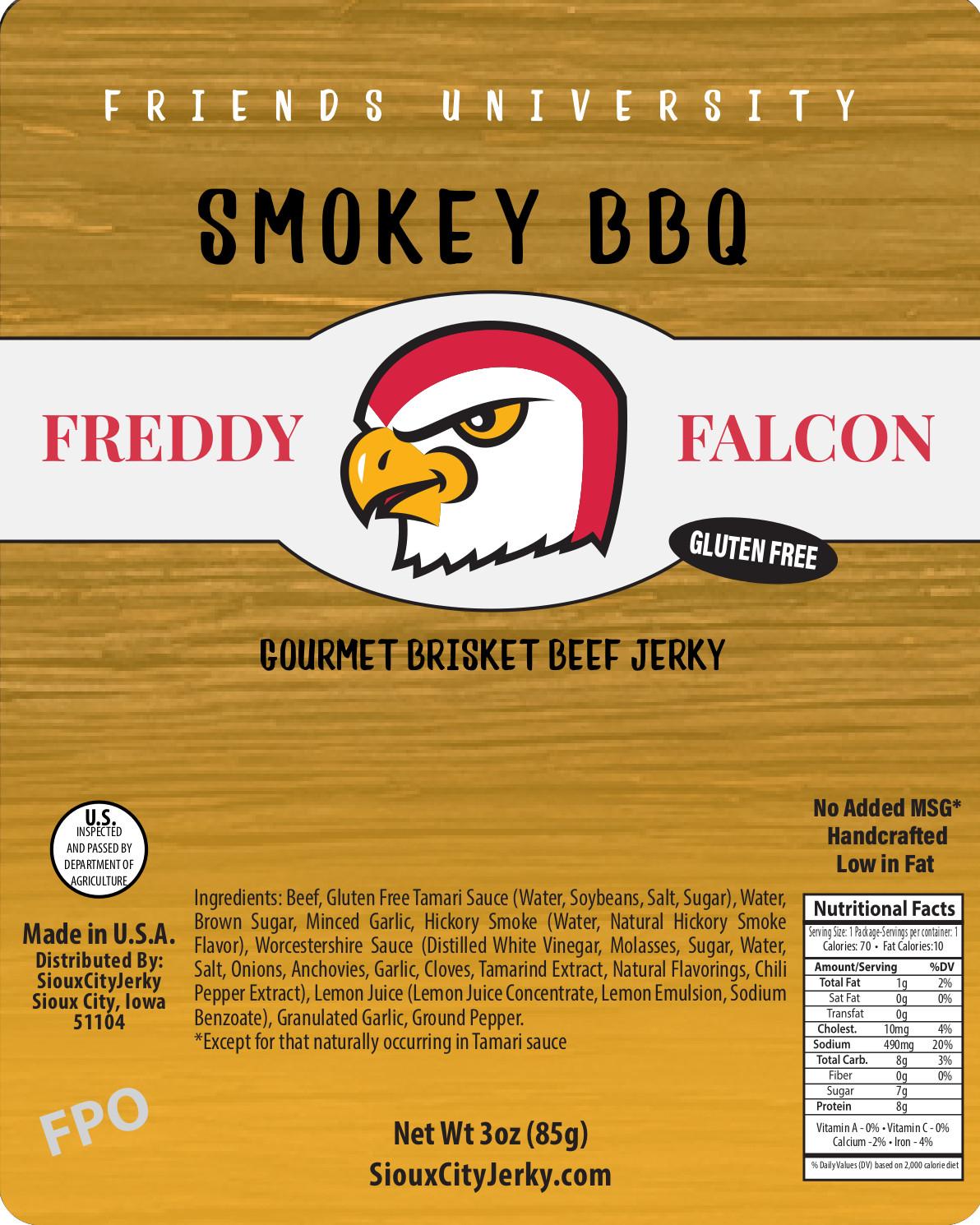 Freddy Falcon Smokey BBQ Beef Jerky