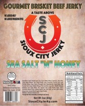 Sea Salt & Honey Beef Jerky