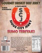 Sumo Teriyaki Beef Jerky