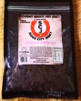 Spiced Sweetly Beef Jerky